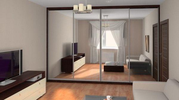 Количество мебели в комнатах
