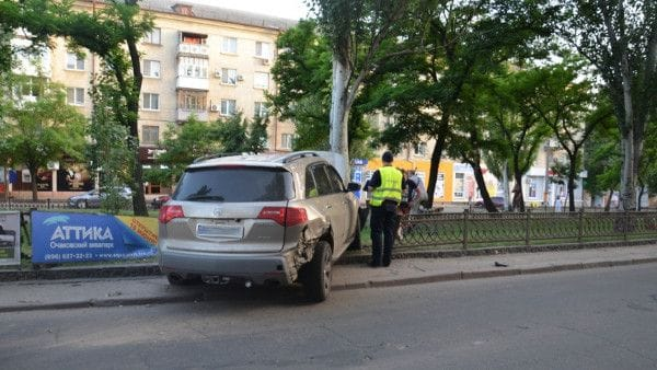 ДТП дорожное ограждение
