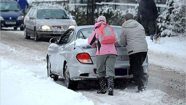 Безаварийное вождение зимой