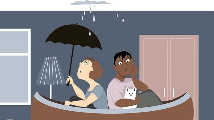 Страхование квартиры от затопления соседей