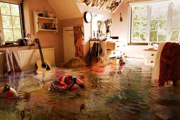 Затопили соседи сверху