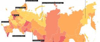 Проблемные регионы