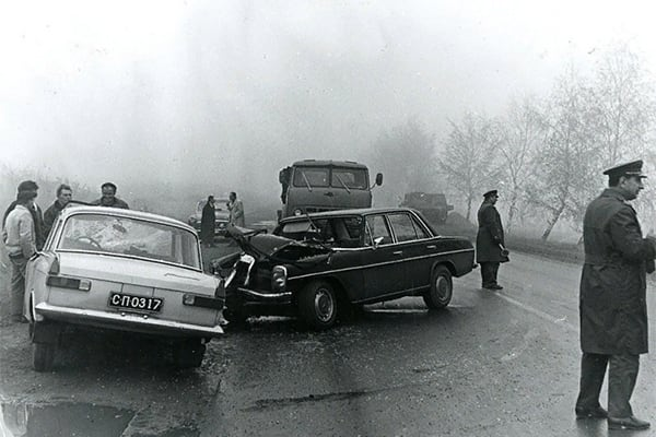 Accident in the USSR