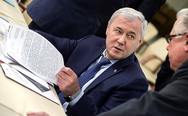 председатель комитета Госдумы РФ по финансовому рынку